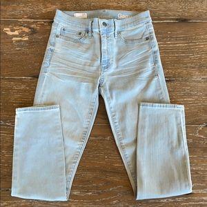 NWOT Gap 1969 Slim Straight Jeans - Size 27R
